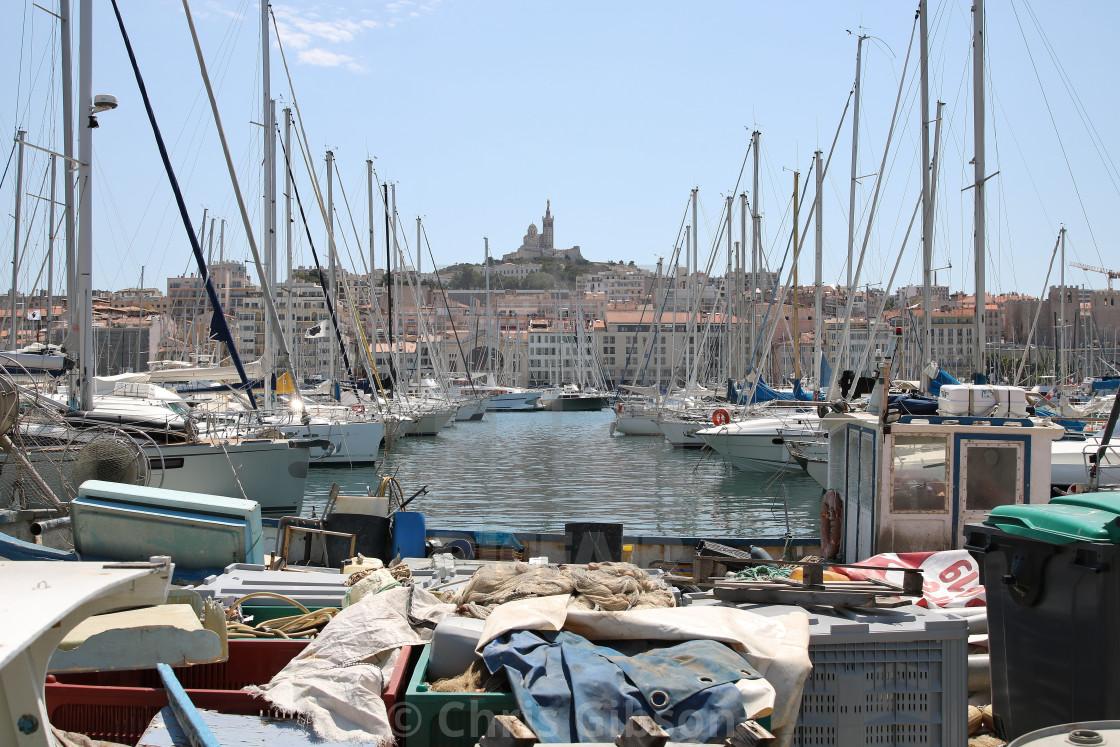 """""""Vieux de port Marseille."""" stock image"""