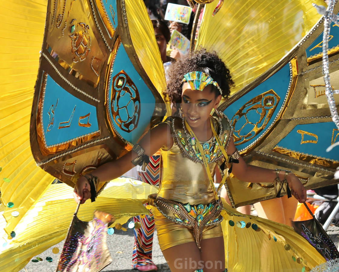 """""""Leeds West Indian Carnival."""" stock image"""
