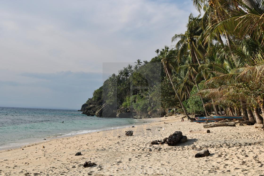 """Life's a beach!"" stock image"