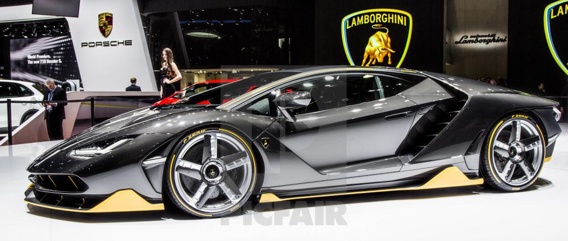 Lamborghini Centenario License Download Or Print For 12 40