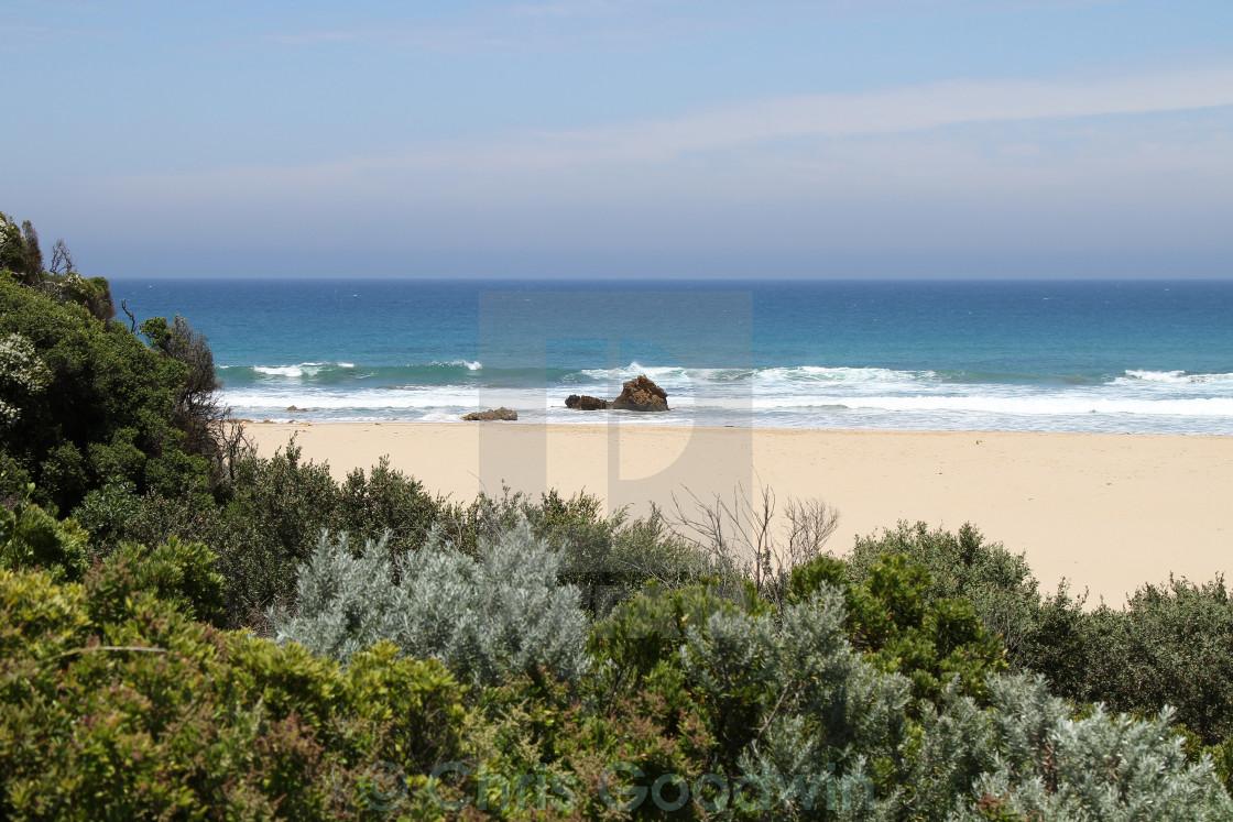 """""""Great Ocean Road, Australia"""" stock image"""