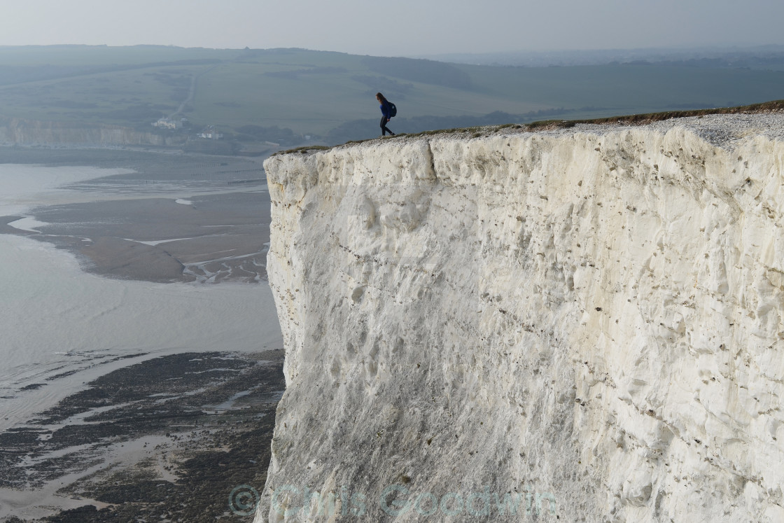 """Beachy Head Cliffs"" stock image"