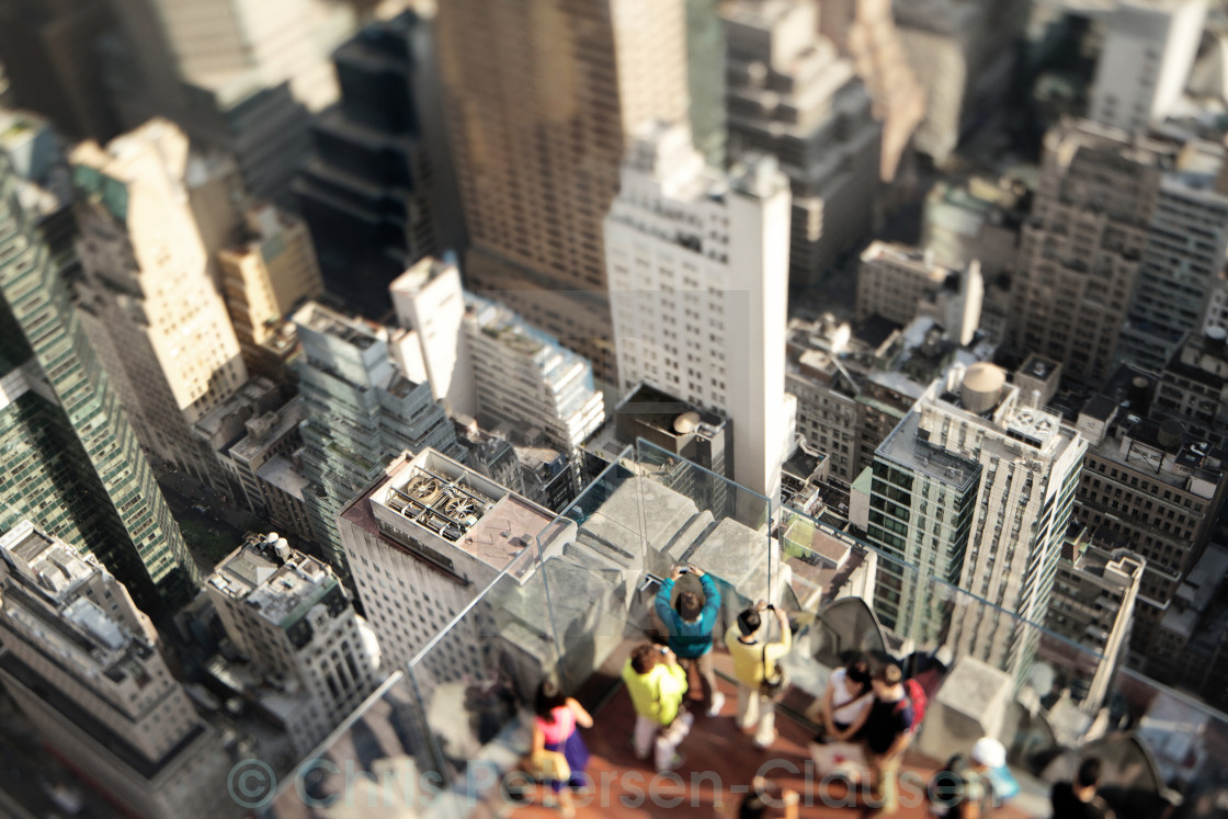 """Manhattan from above"" stock image"