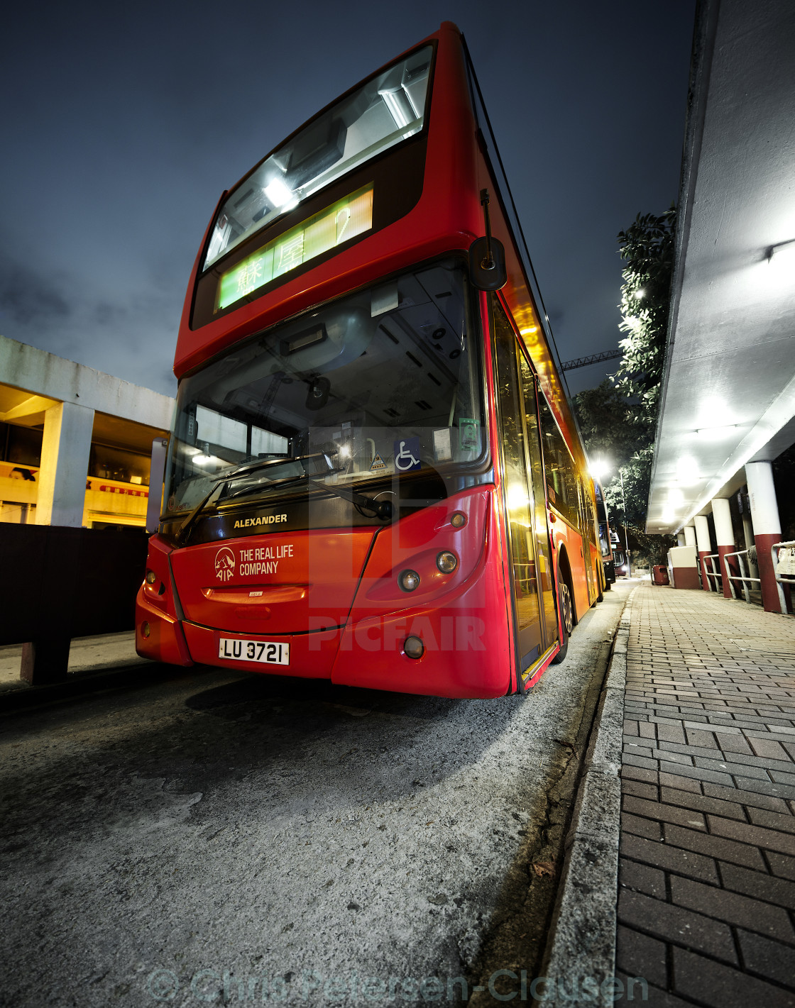 """double-decker bus"" stock image"