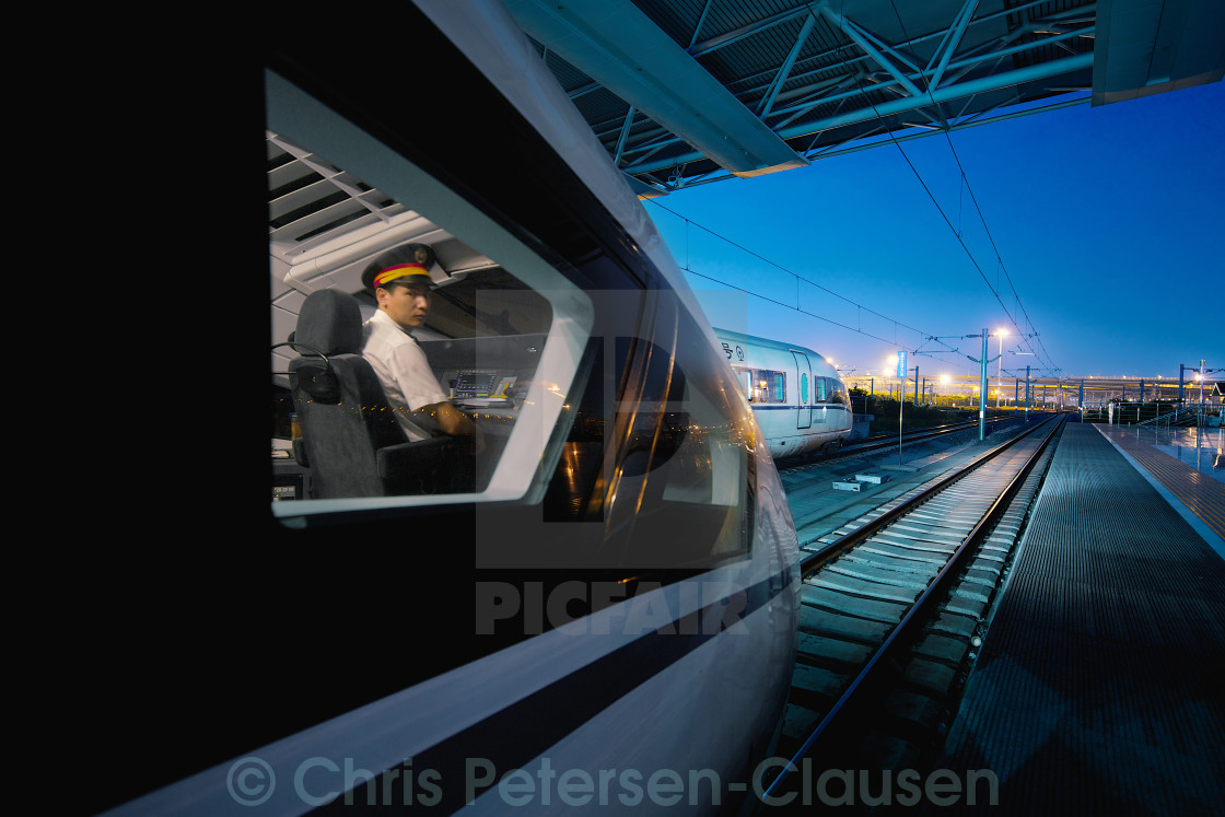 """train driver"" stock image"