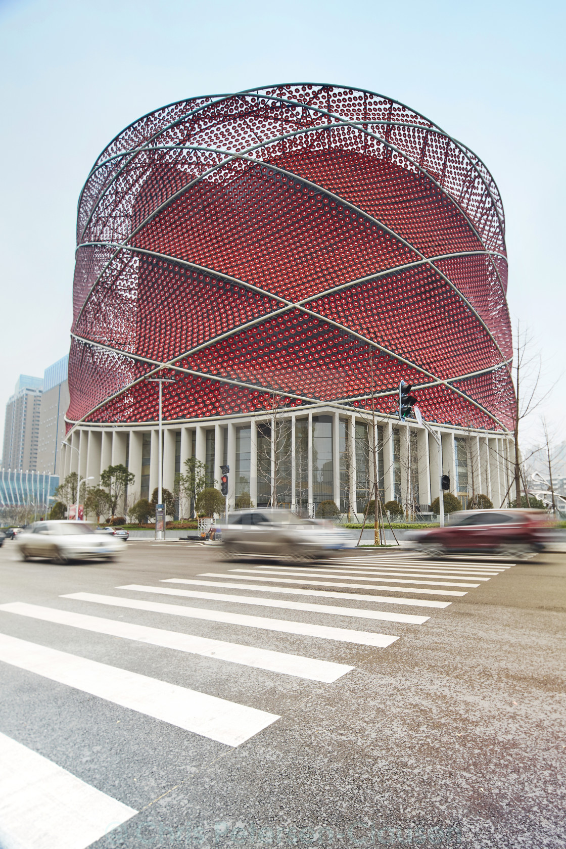 """Wuhan Han Theatre Hall"" stock image"