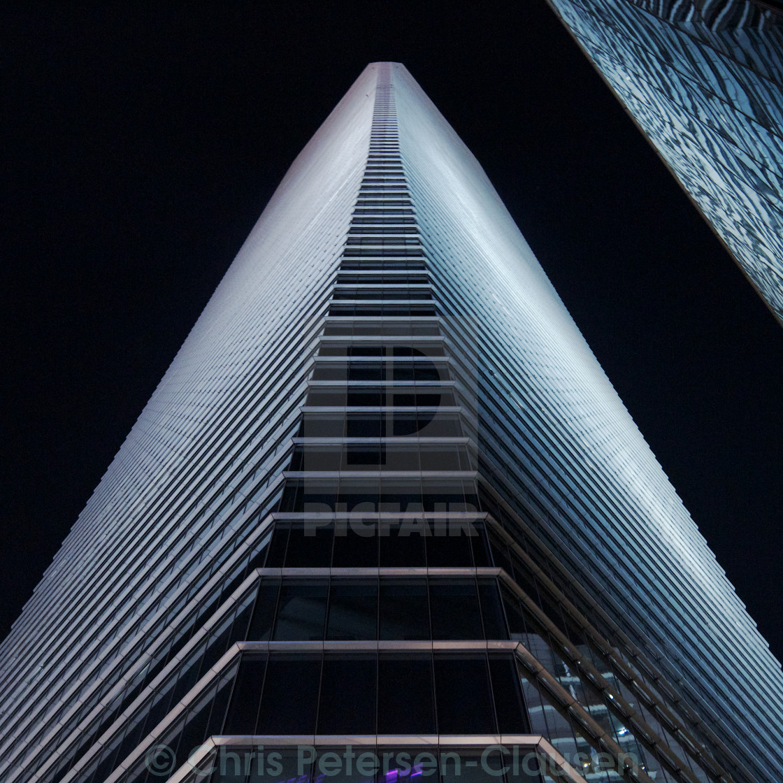 """Shanghai Office tower"" stock image"