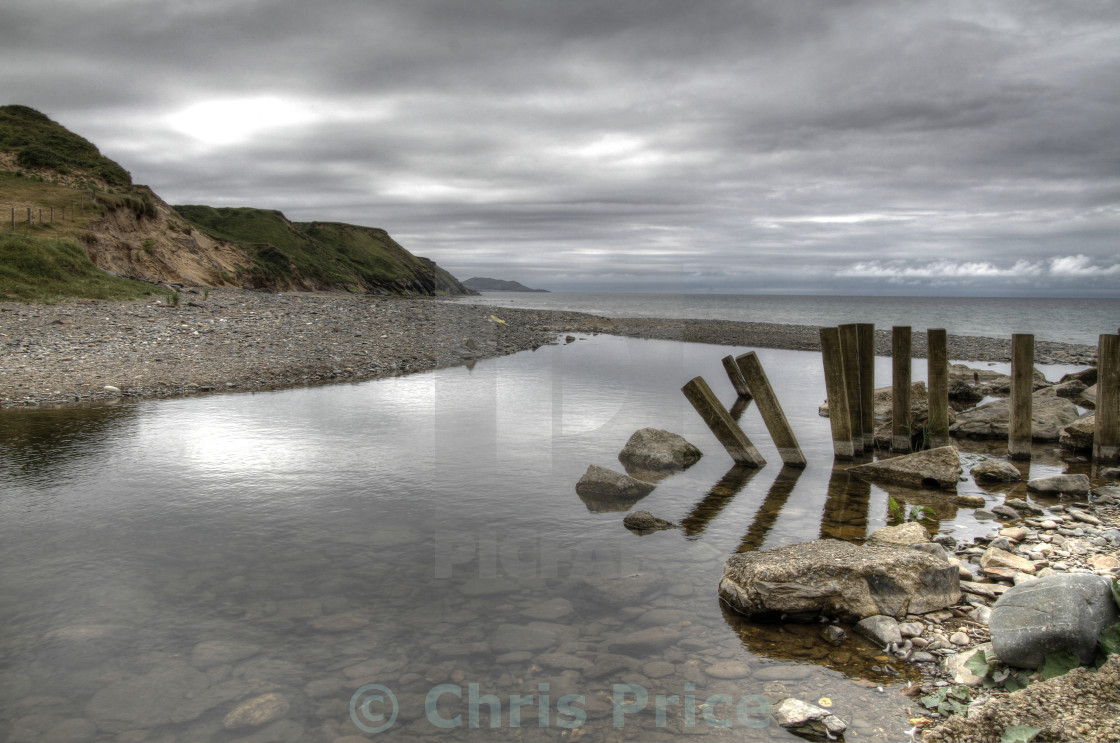 """""""Glen Mooar. Isle of Man"""" stock image"""