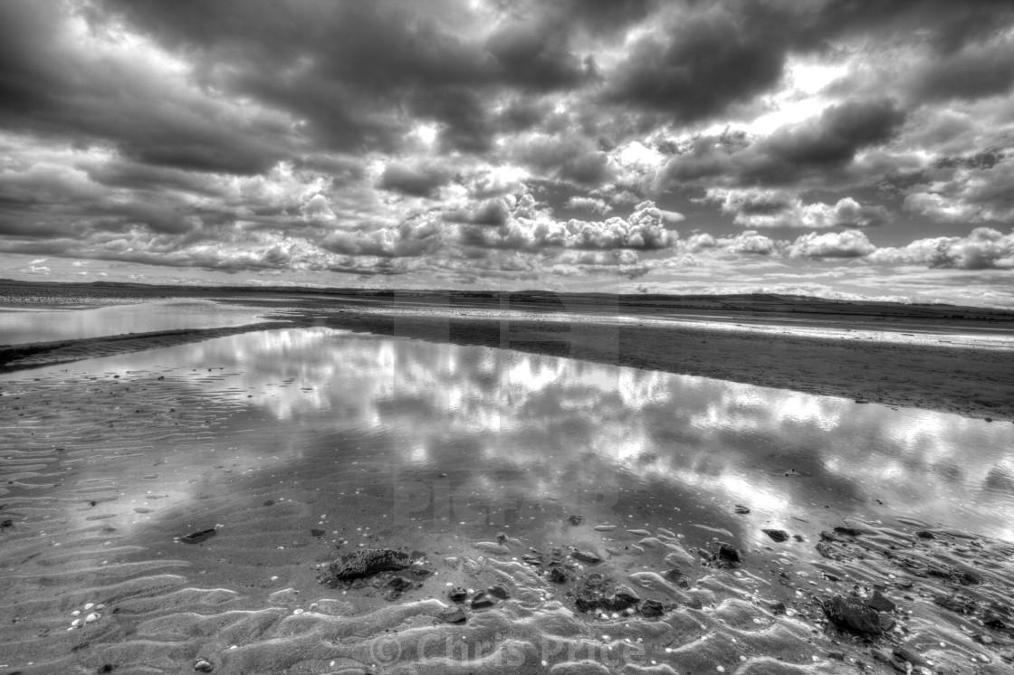 """""""Holy Island, Lindisfane National Nature Reserve"""" stock image"""