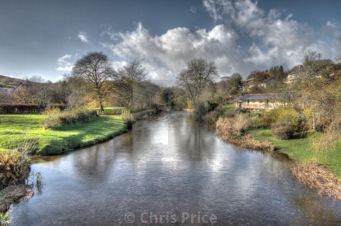 """Withypool, Exmoor"" stock image"
