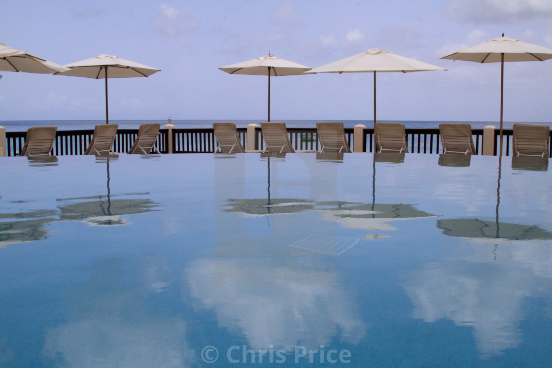 """Infinity Pool"" stock image"
