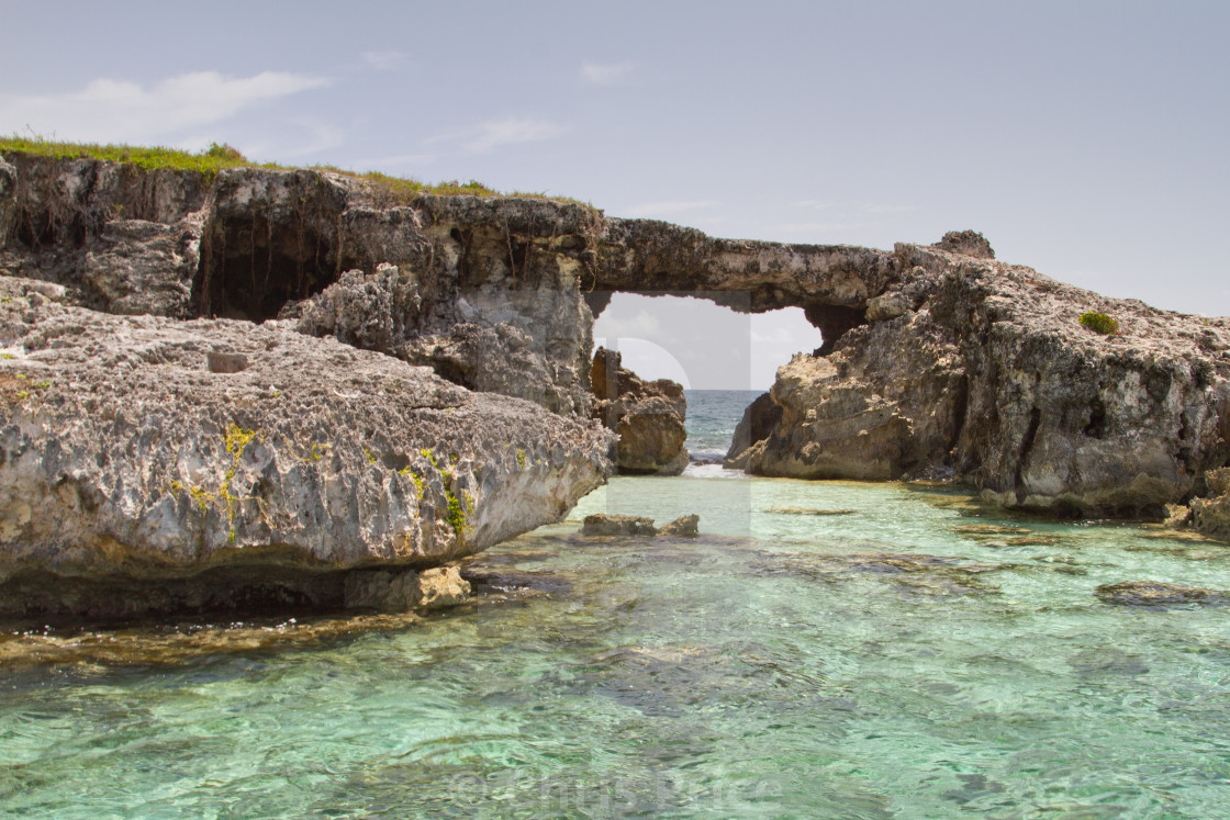 """Hell's Gate Island, Antigua"" stock image"