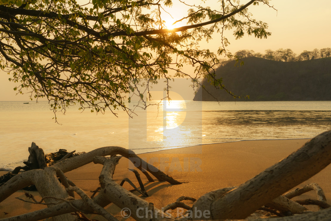 """Costa Rican Sunset"" stock image"