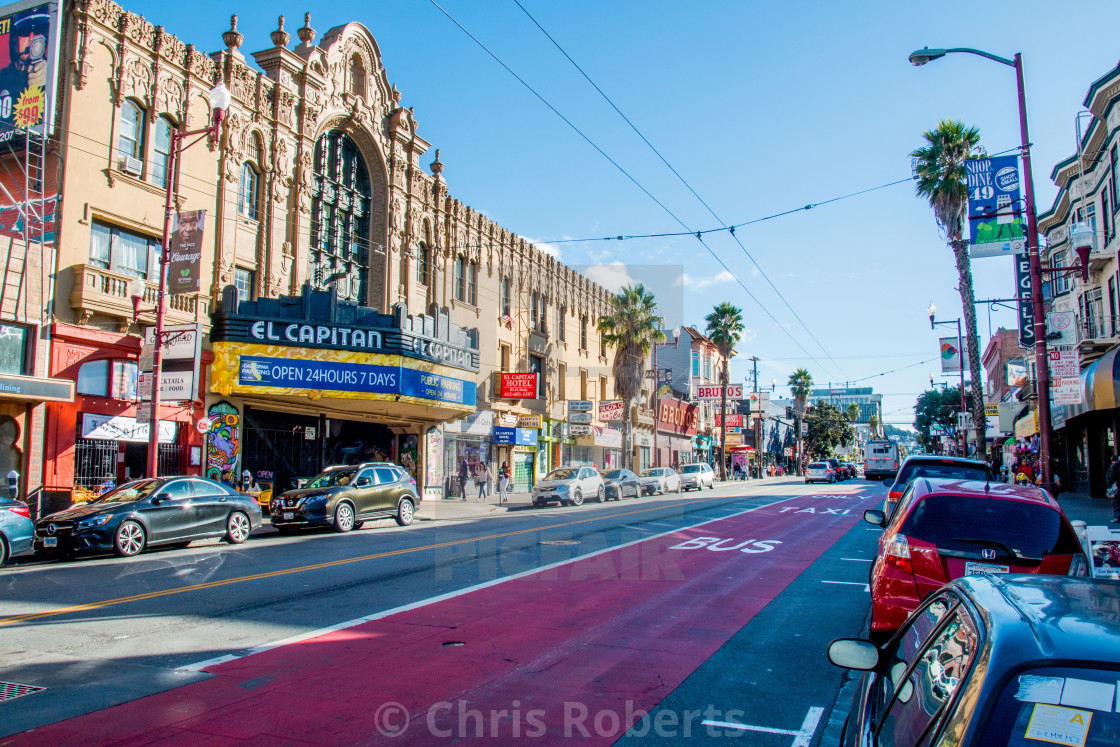 """Mission District, San Francisco"" stock image"