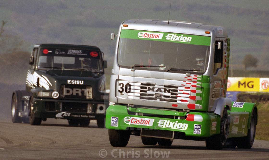 """Truck Race at Pembrey"" stock image"