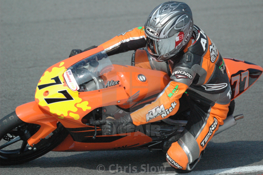 """Motor Bike Racing - Brands Hatch"" stock image"