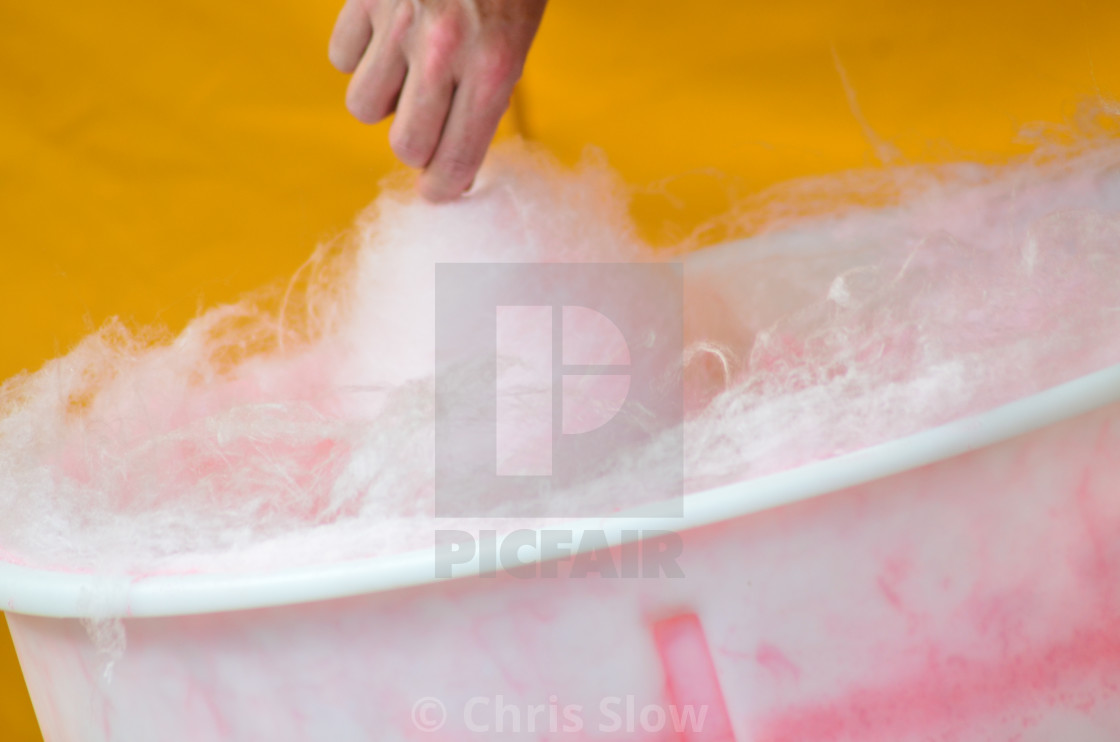 """Candy Floss"" stock image"