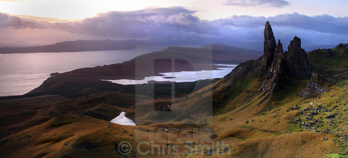 """Old man of Storr - Isle of Skye"" stock image"