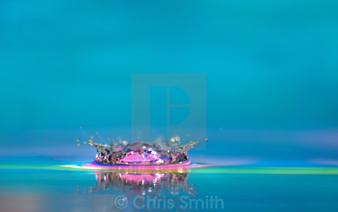 """Crown - Water Drop"" stock image"