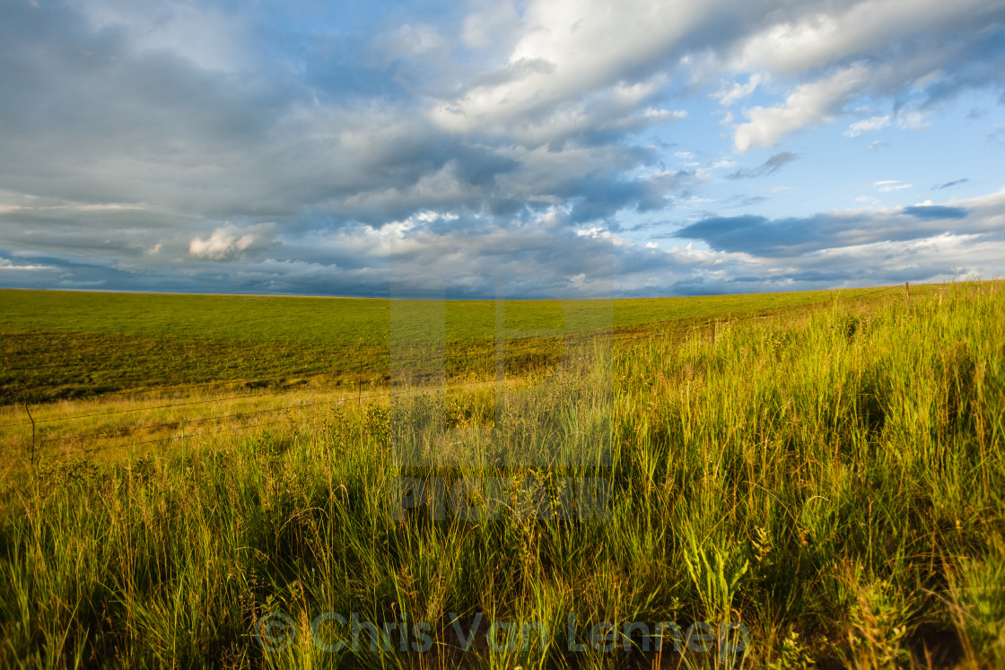 """""""Mountain Landscape Hills Afternoon"""" stock image"""