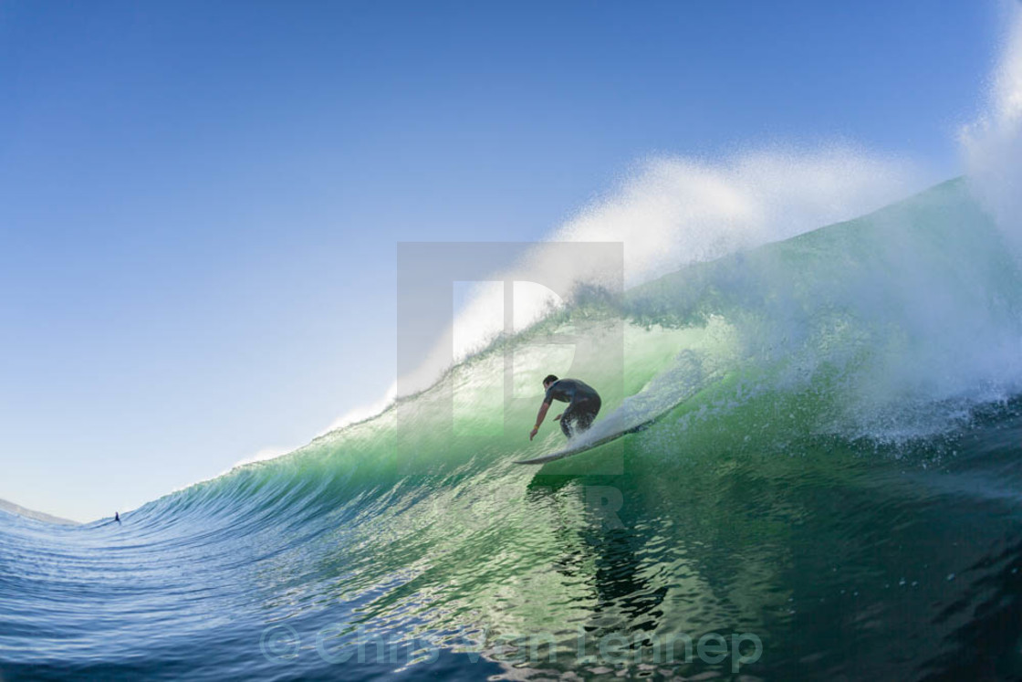 """Surfing Wave Water"" stock image"