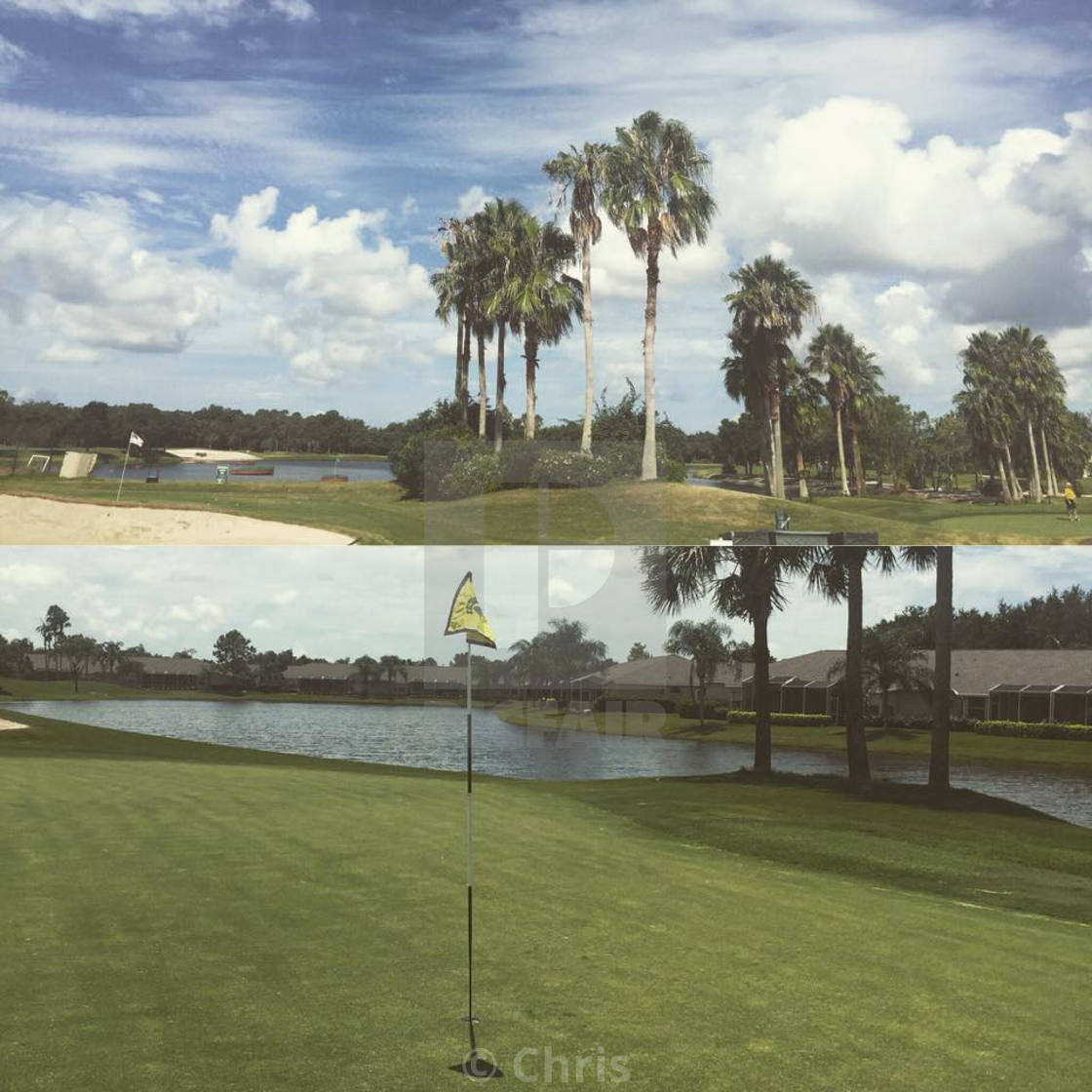 """Sarasota Golf Course"" stock image"
