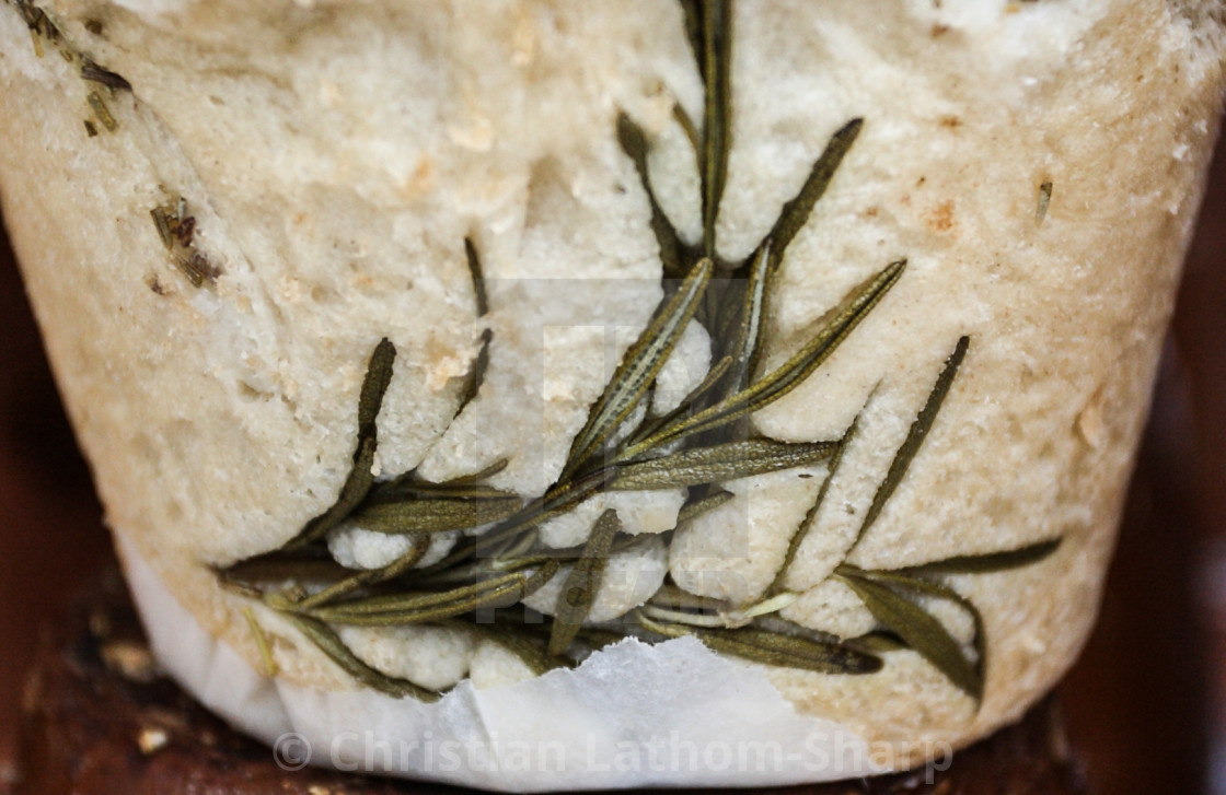 """Rosemary Bread"" stock image"