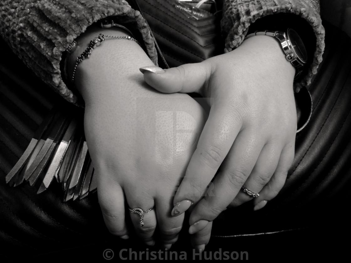 """Hands"" stock image"