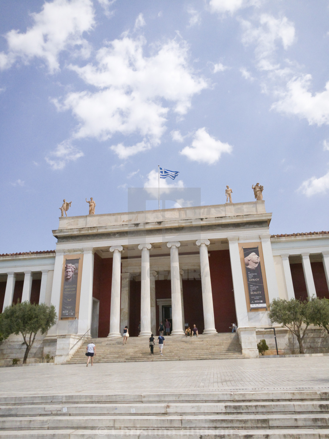 """National Archaeological Museum"" stock image"