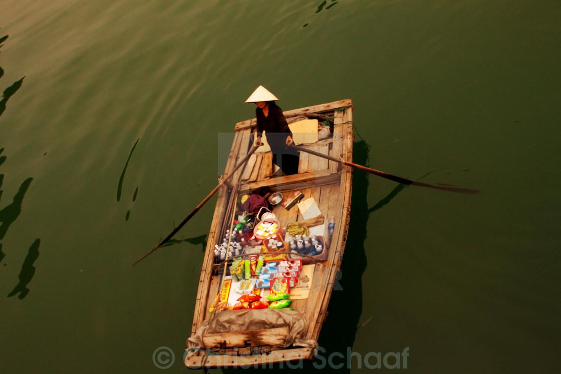 """Halong Bay Local"" stock image"