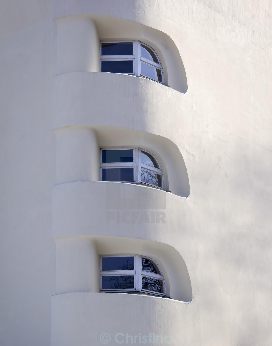 """Three Windows"" stock image"