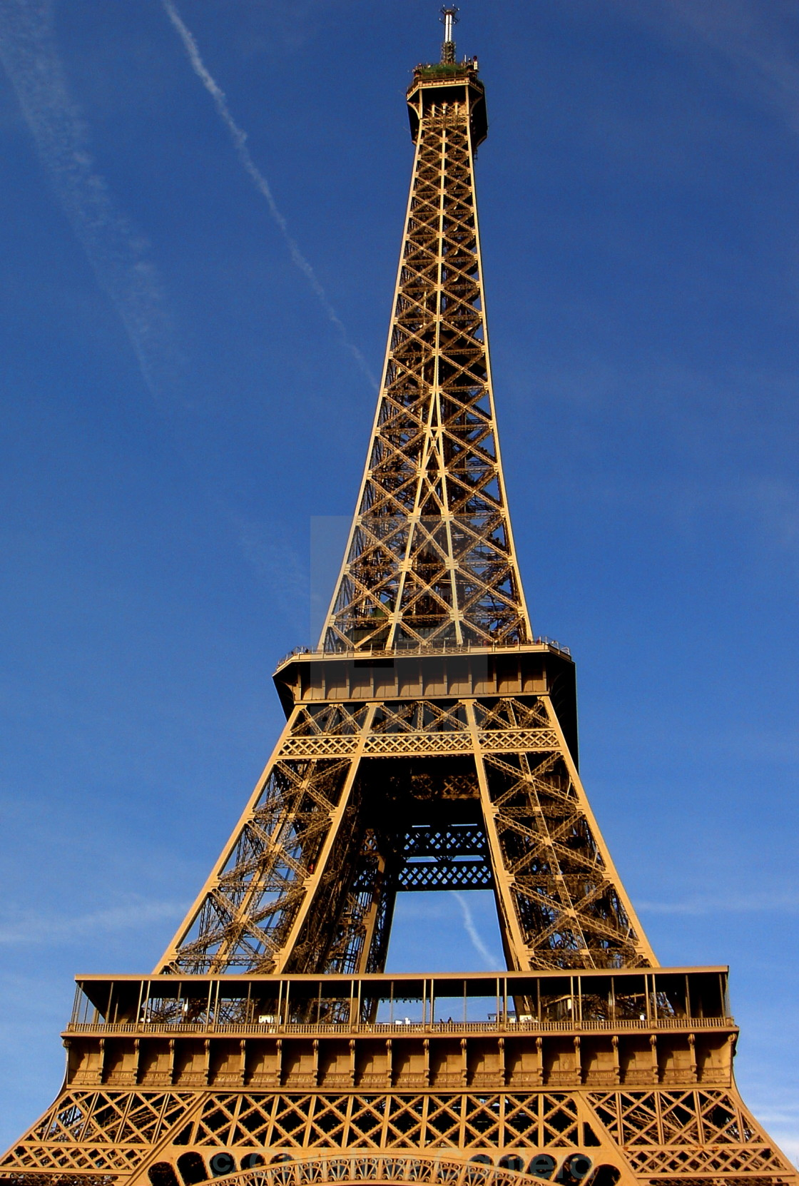 """Eiffel Tower"" stock image"