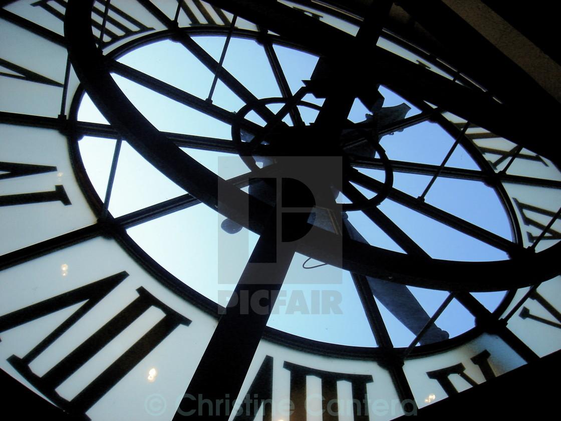 """Large Clock"" stock image"