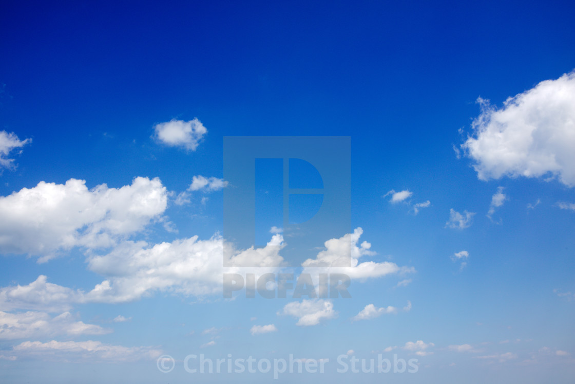 """Sky With Clouds"" stock image"