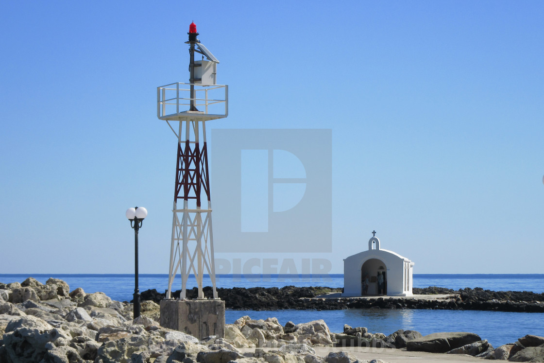"""Agios Nikolaos Church"" stock image"