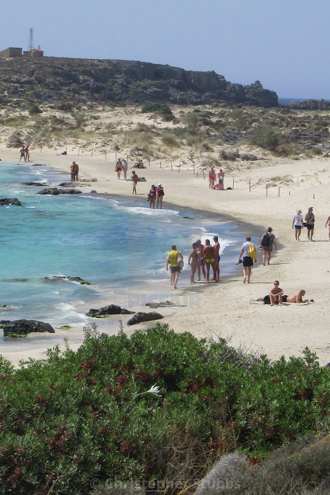 """Elafonisi Beach"" stock image"