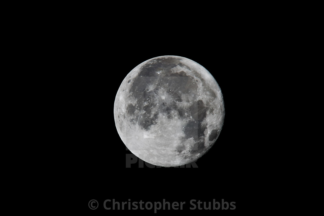 """""""The Moon"""" stock image"""