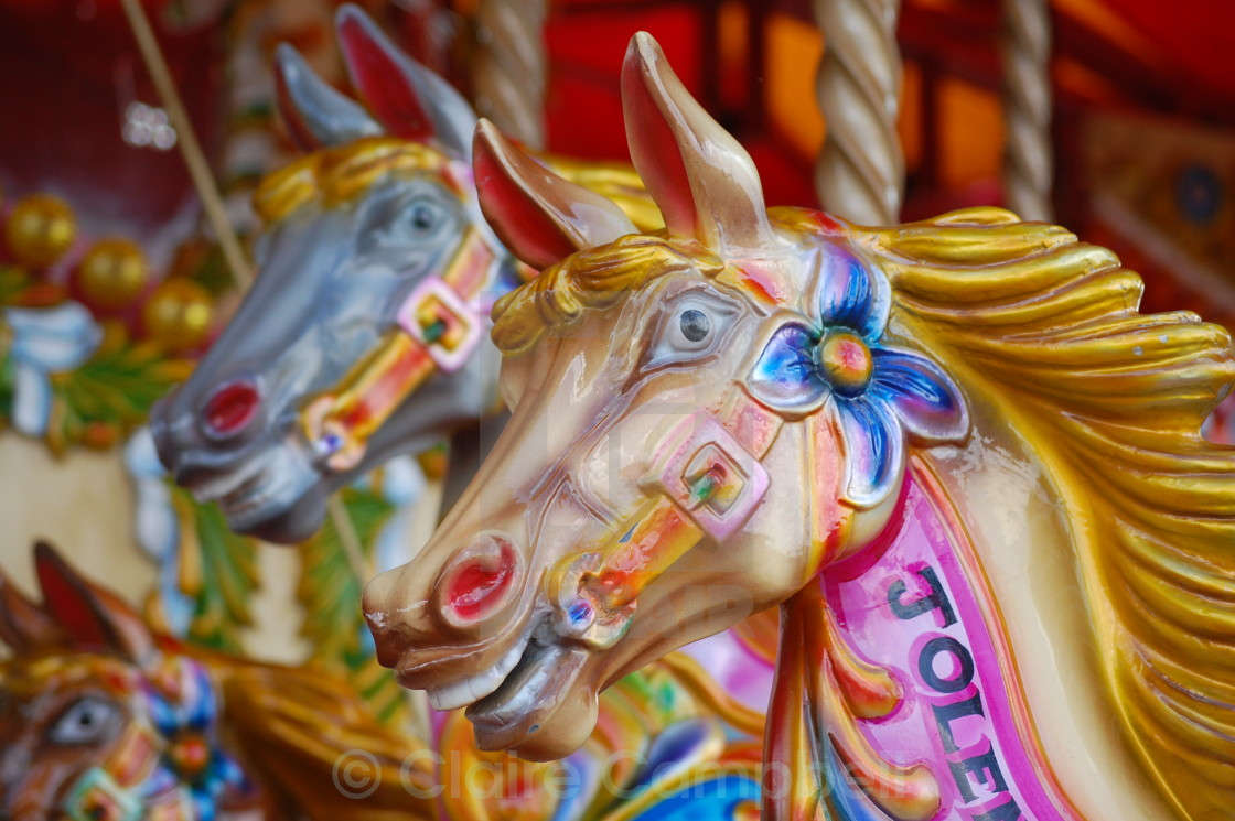 """Fairground ride - London"" stock image"