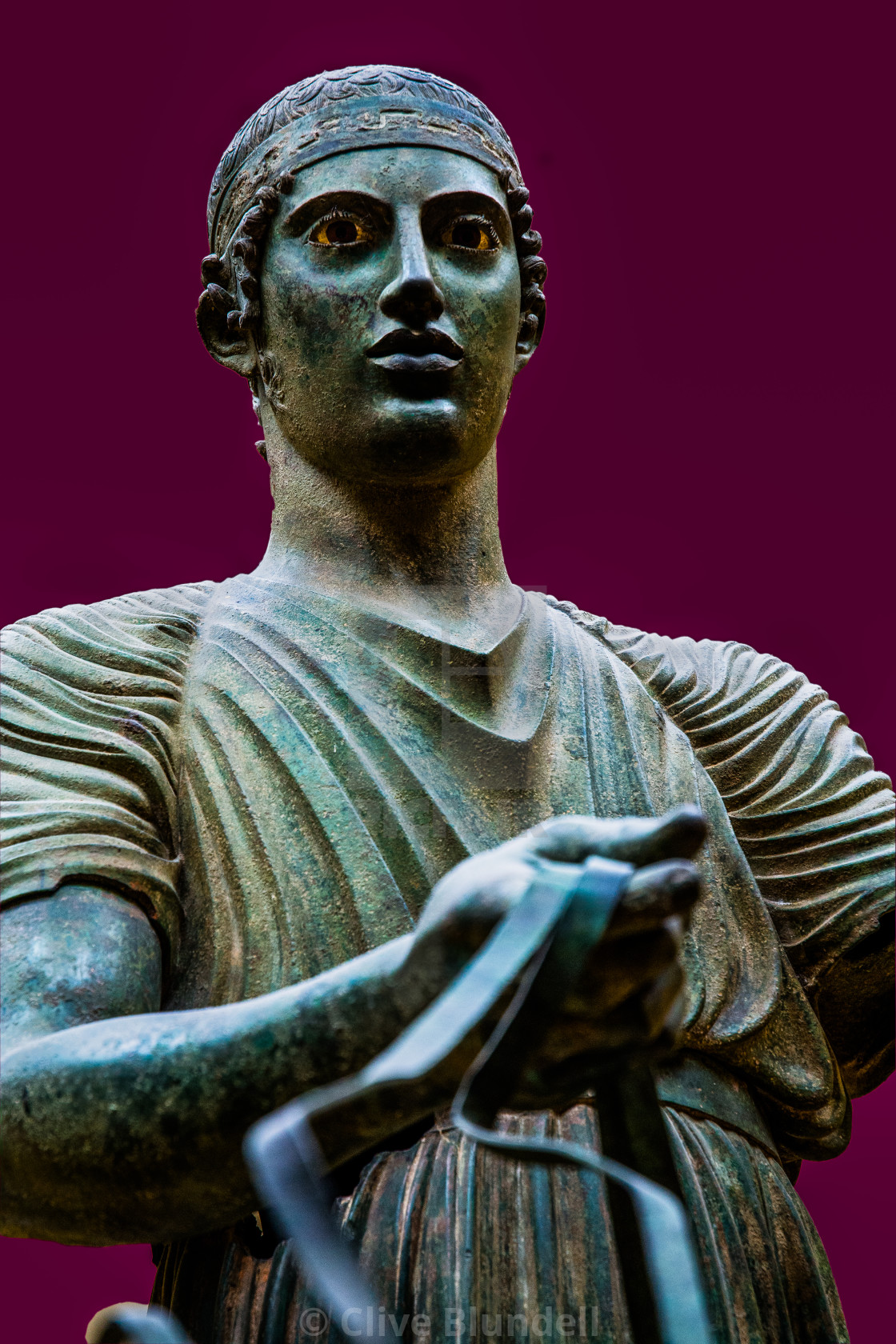 """""""Charioteer"""" stock image"""