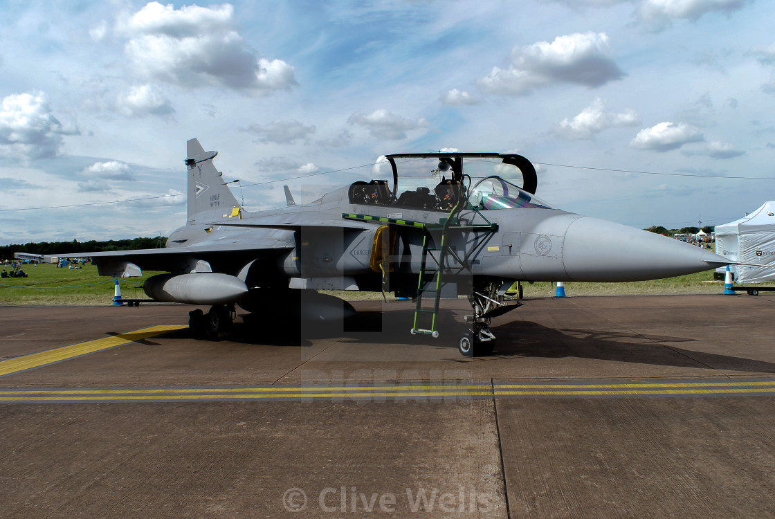 Hungarian Air Force Gripen - License, download or print for £3 72