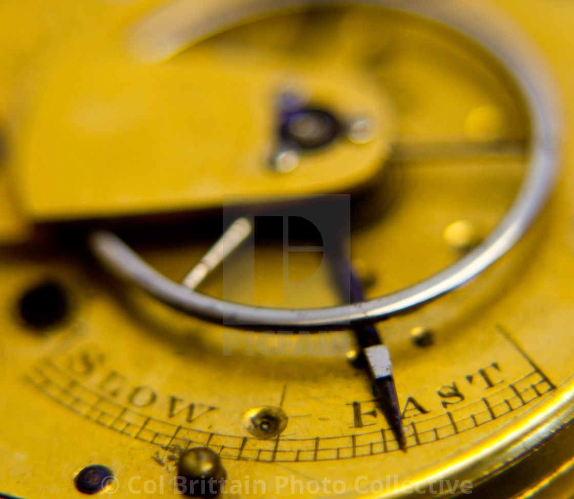 """""""The Pocket watch"""" stock image"""