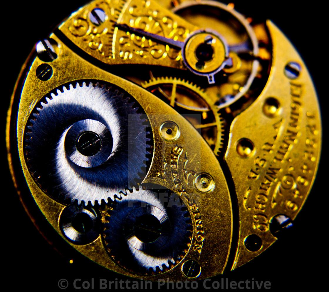"""Elgin Pocket watch"" stock image"