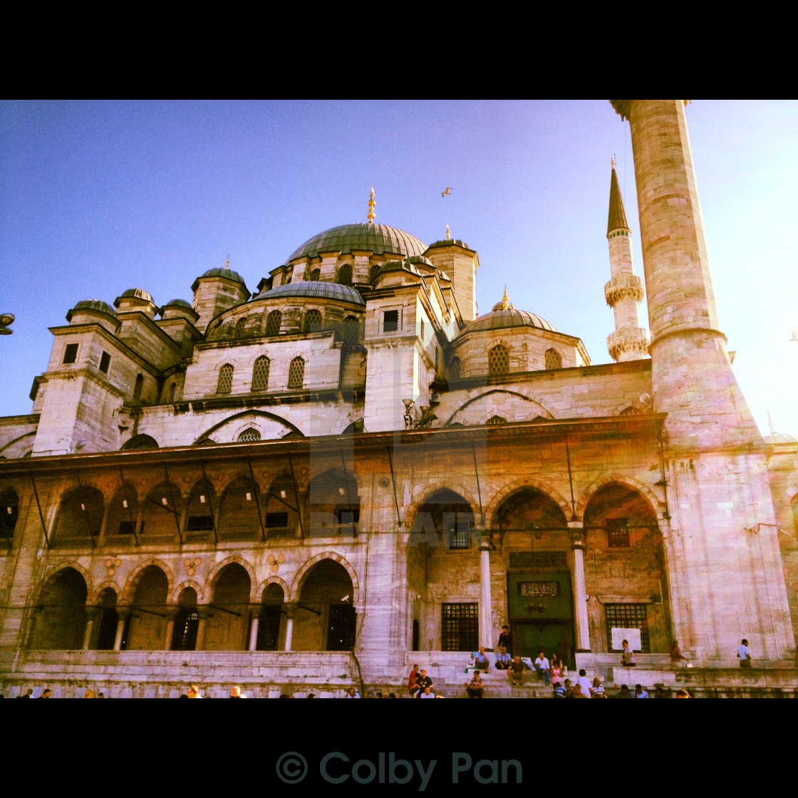 """Istanbul Mosque"" stock image"
