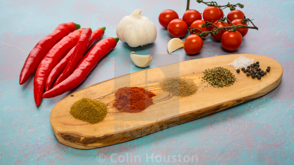 """""""chilli and spice and all things nice"""" stock image"""