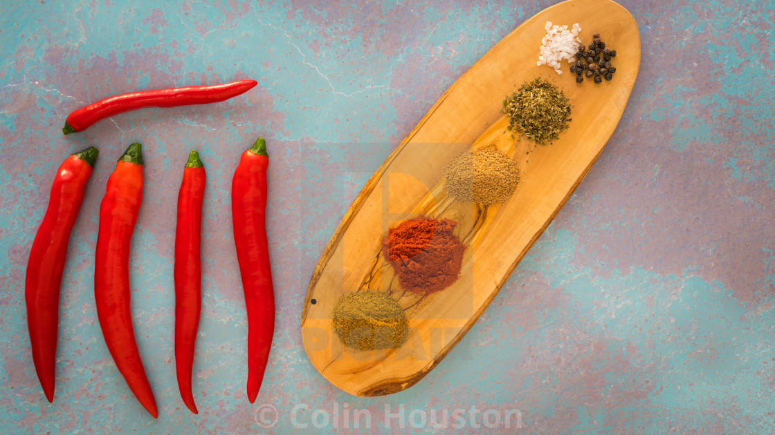 """""""chilli pepper and spice"""" stock image"""
