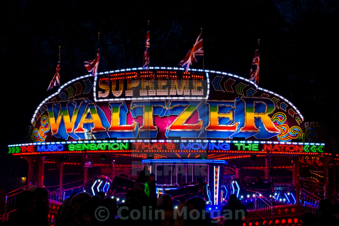 """The Waltzer"" stock image"