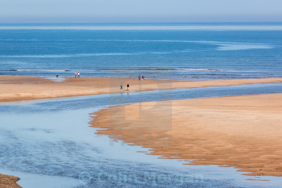 """""""Alnmouth Estuary Northumberland"""" stock image"""
