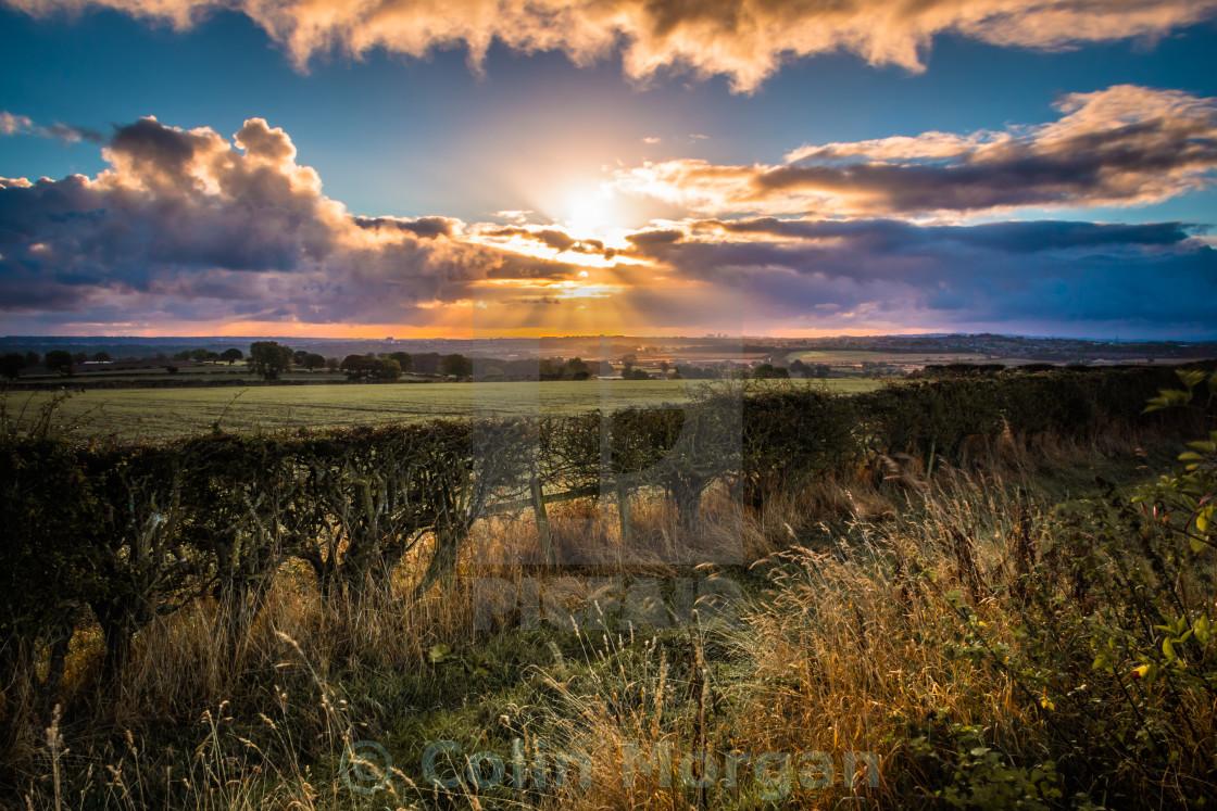 """""""Countryside Sunrise"""" stock image"""