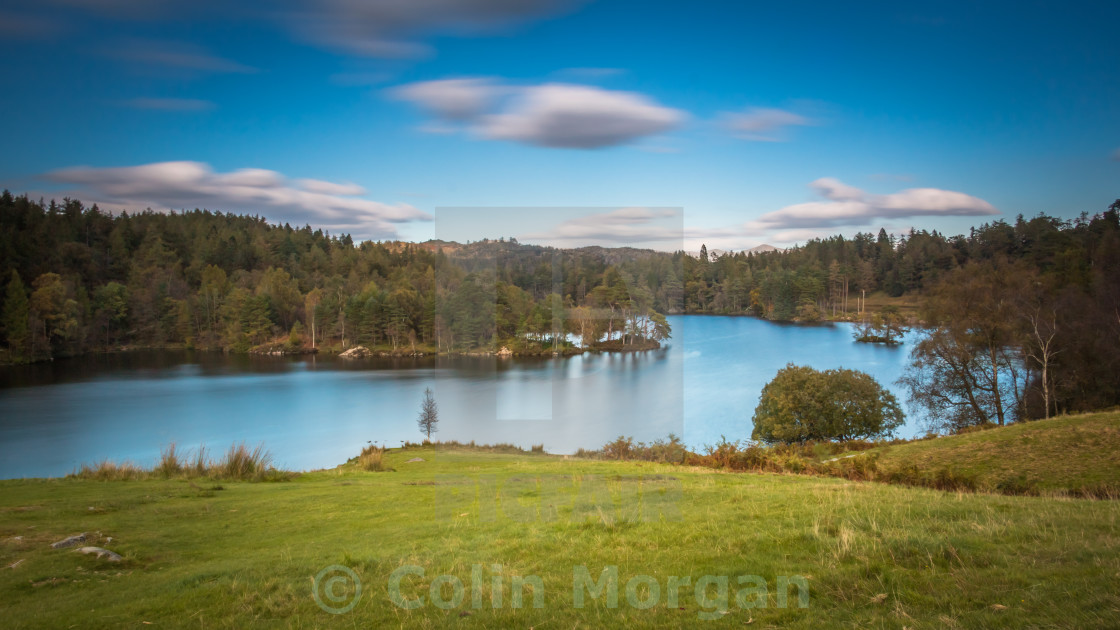 """Tarn Hows in the Lake District"" stock image"