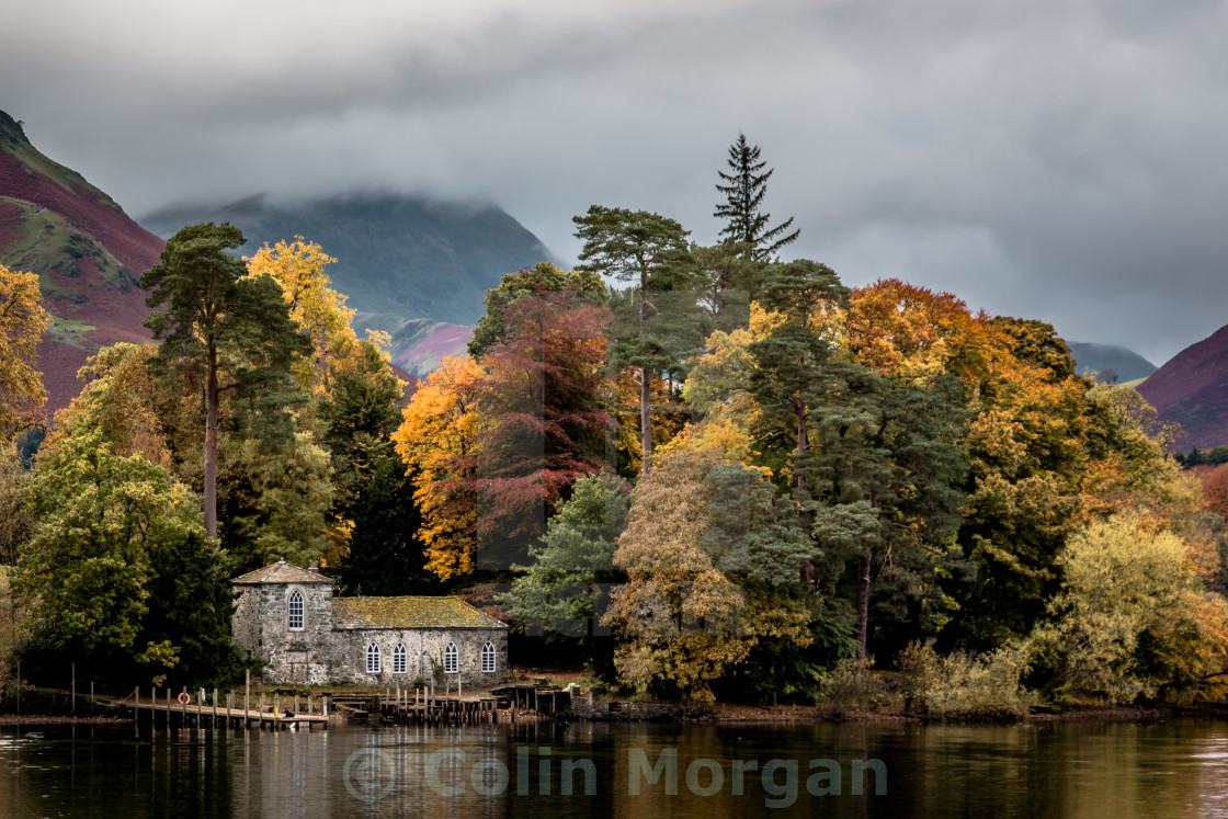 """Derwent Isle in the Autumn"" stock image"